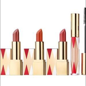 Set of three Estée Lauder lipsticks holiday set